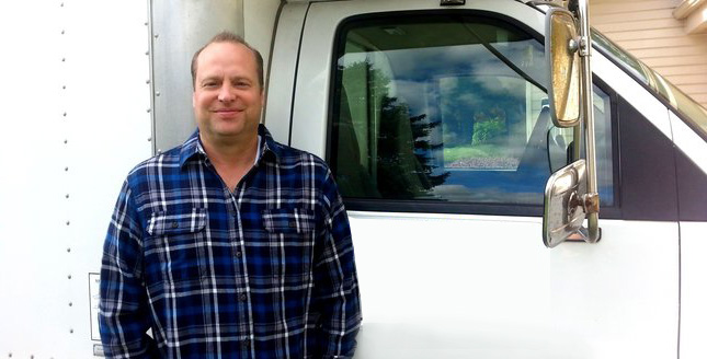 Tom is one of our Orinda plumbers and he is standing ready by his truck